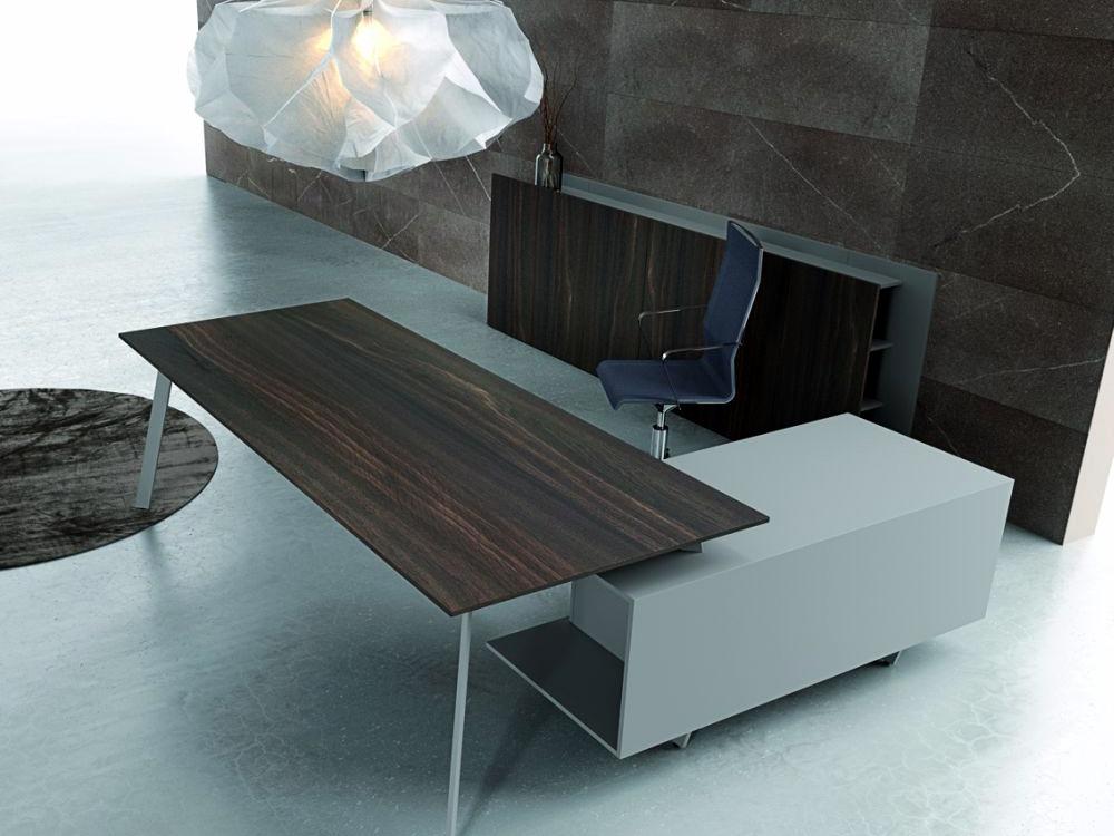 Bureau de direction design et classe evo meuble et for Mobilier de bureau contemporain