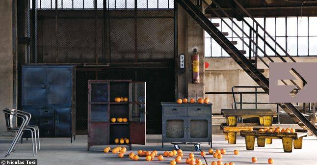 Decoration loft industriel pas cher - Mobilier industriel pas cher ...