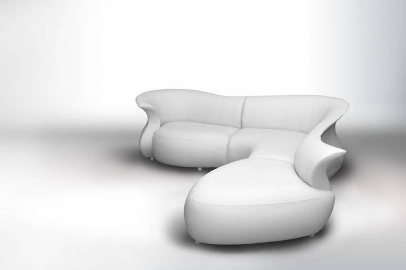 Canap d 39 angle design organique amphora meuble et - Canape d angle moderne pas cher ...