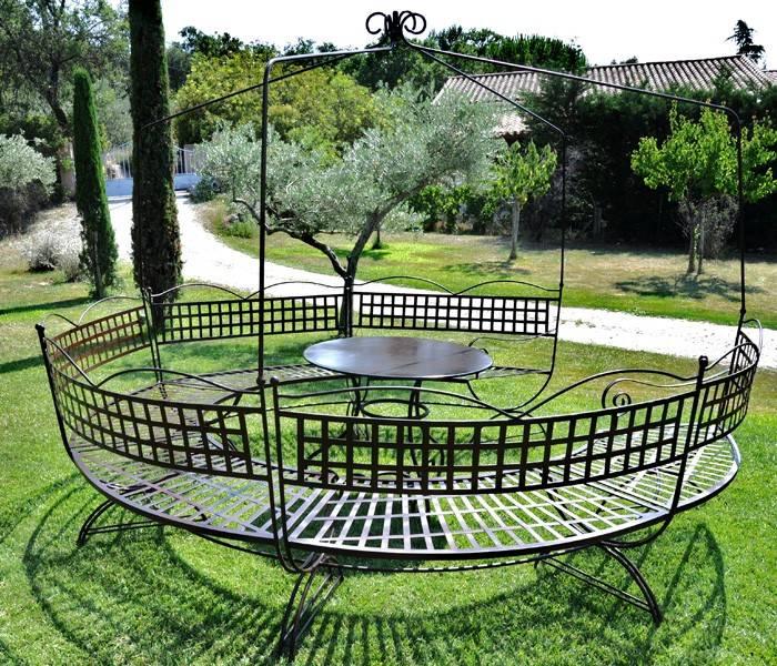 Vente salon de jardin en fer forgé - DELATTRE - Meuble et ...