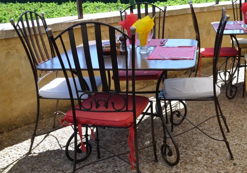 Vente salon de jardin en fer forg delattre meuble et d coration marseille mobilier design - Mobilier de jardin en fer forge ...