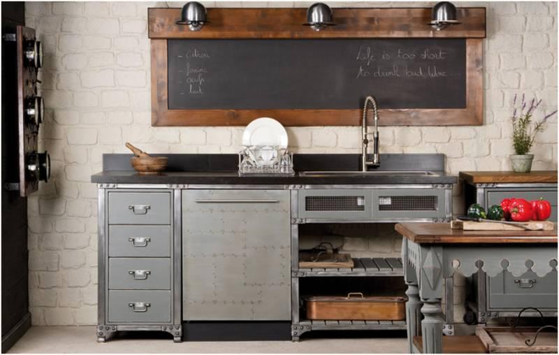 Meuble cuisine en bois gallery of the modele de cuisine - Meuble de cuisine en bois pas cher ...