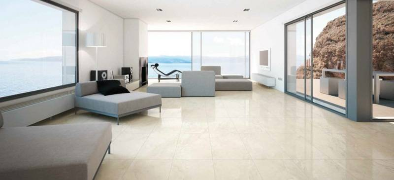 Carrelage design s jour for Sejour design blanc
