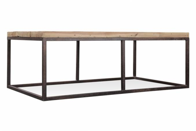 Table basse style industriel et chic llanelli meuble et d coration marseill - Table basse moderne design ...