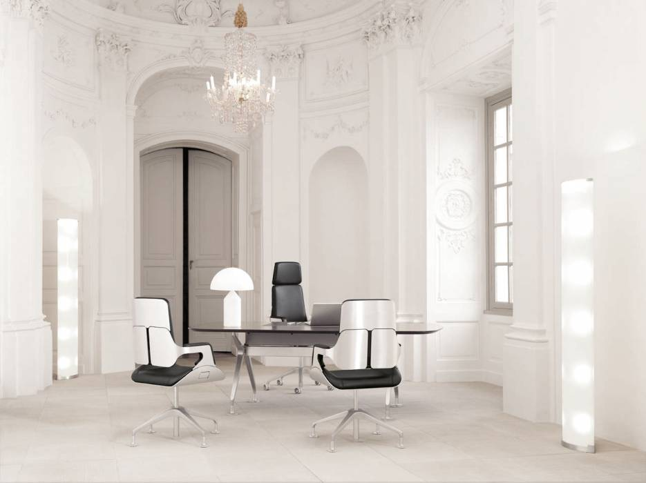 fauteuil de bureau ultra design silver interstuhl meuble et d coration marseille mobilier. Black Bedroom Furniture Sets. Home Design Ideas