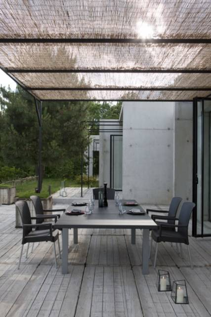 Table de jardin lifestyle en pvc grosfilex ineo marseille meuble et d coration marseille - Table jardin beton marseille ...