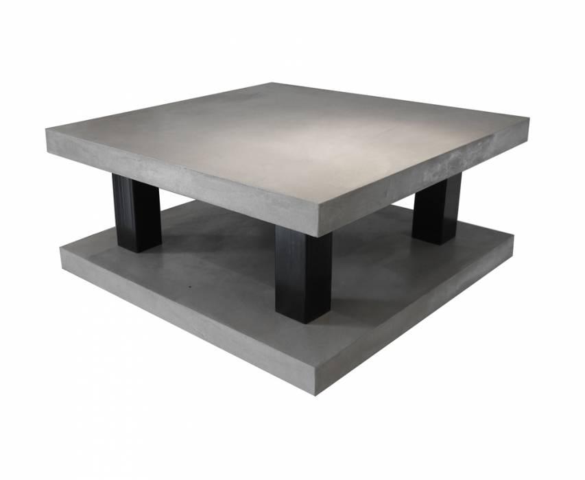 Fabricant de mobilier en b ton cir saint cyr pr s de for Table basse en beton