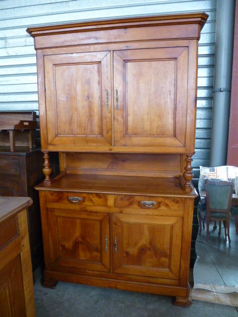 buffet 2 corps en merisier d'occasion - meuble et décoration ... - Meubles Design D Occasion
