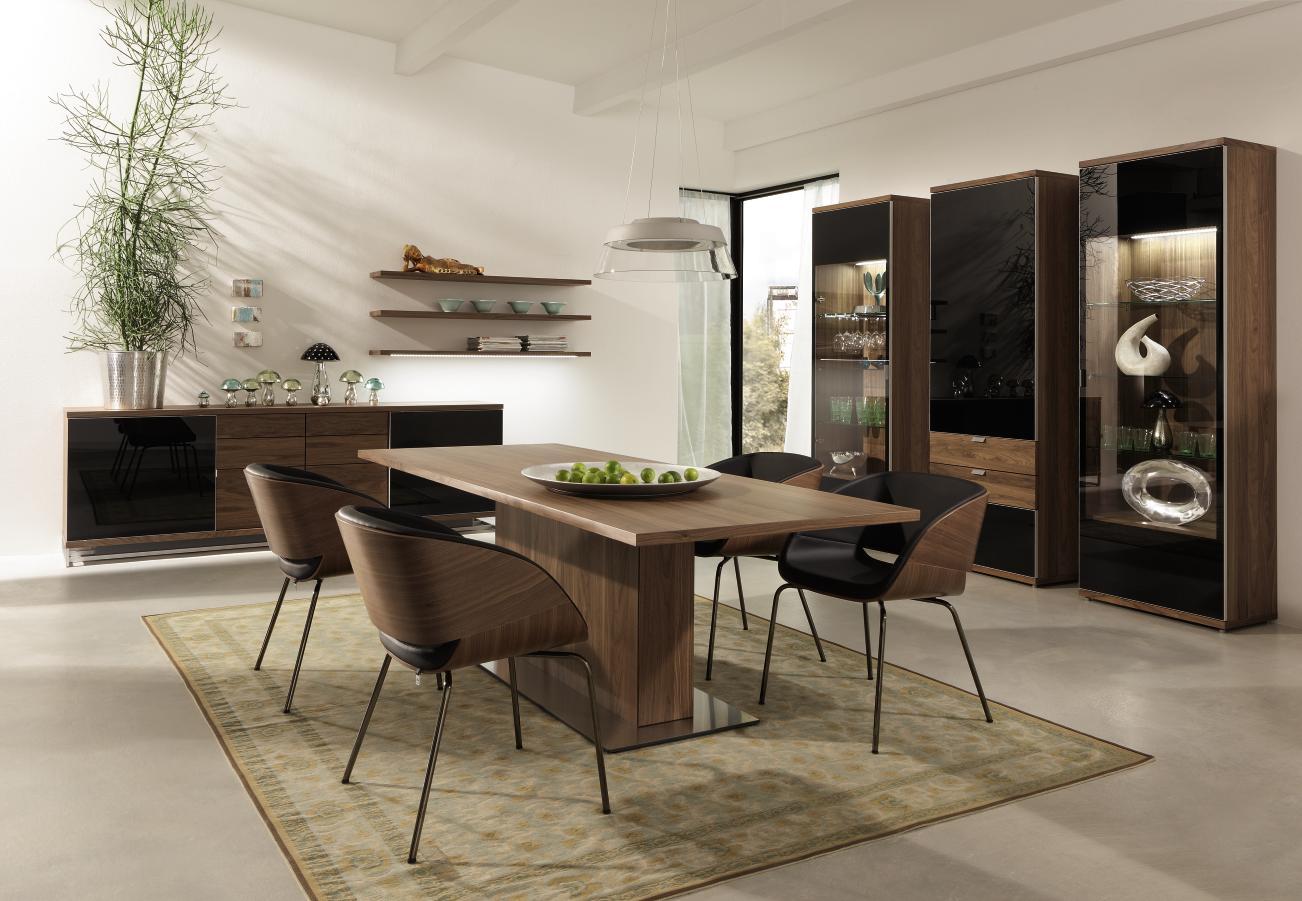 Meubles pour salle de sejour de la marque tameta hulsta a for Meuble salle À manger avec chaise noir de salle a manger