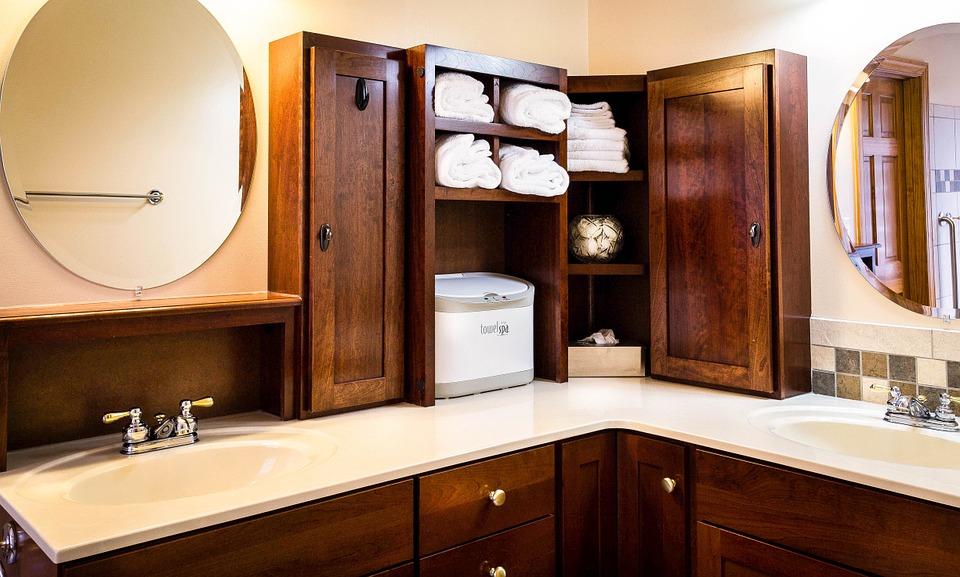 Mobili Soggiorno Angolari Ikea : Agencement de salle bains sur mesure meuble et