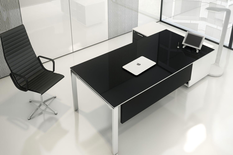 Bureau de direction finition luxe couleur sur commande meuble