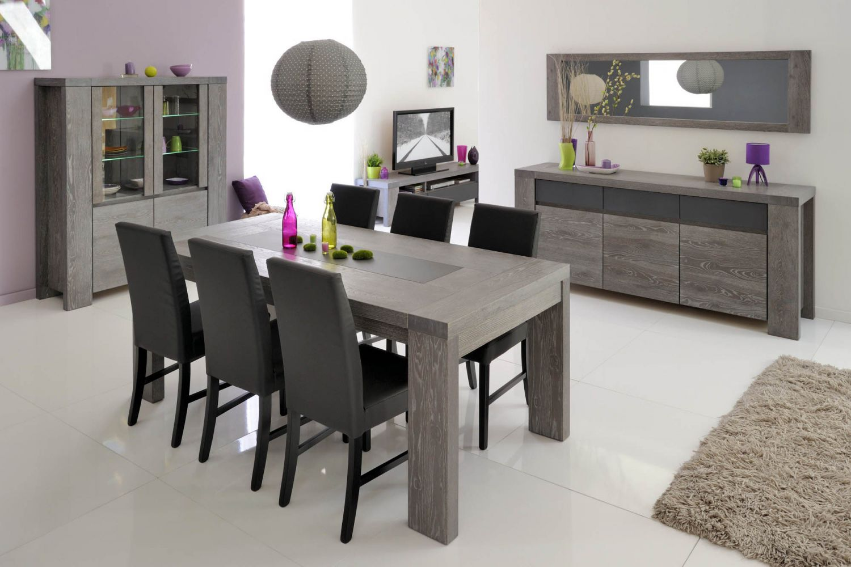 Meubles de salle manger style contemporain moyenne for Buffet gris pas cher