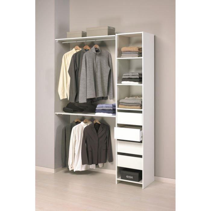 Un mini dressing pour une petite chambre kit placard - Dressing pour petite chambre ...