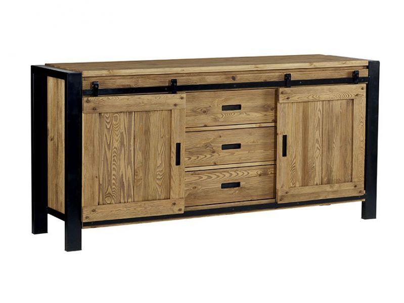 Salle manger les meubles meuble et d coration for Table de salle a manger design industriel