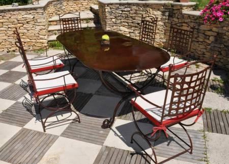 Toutes nos prestations meuble et d coration marseille for Table exterieur en fer