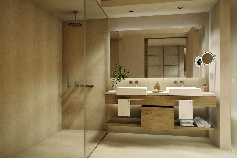 Salle de bain les meubles meuble et d coration for Photo salle de bain moderne